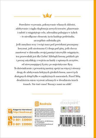 Tył okładki książki/ebooka Korona Polskich Gór. Wydanie 2