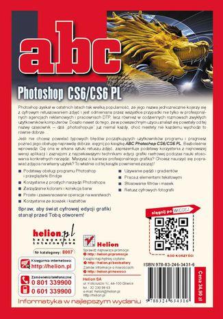 Tył okładki książki/ebooka ABC Photoshop CS6/CS6 PL