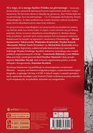 Tył okładki książki/ebooka Zapomniani żołnierze niepodległości
