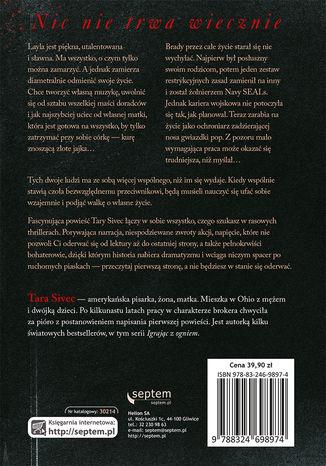 Tył okładki książki/ebooka Gdyby nie Ty... Igrając z ogniem 2
