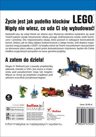 Tył okładki książki/ebooka LEGO. Księga przygód
