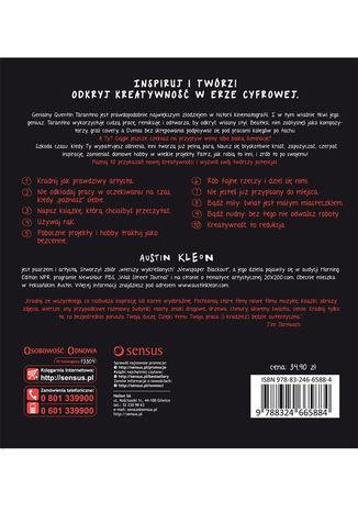 Okładka książki Twórcza kradzież. 10 przykazań kreatywności