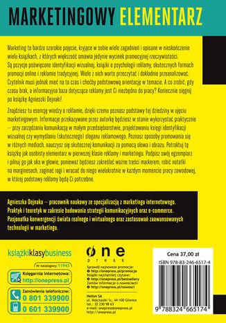 Tył okładki książki/ebooka Strategia reklamy marki, produktów i usług. Wydanie II rozszerzone