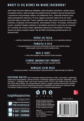 Okładka książki Myśl jak Zuck. Pięć sekretów biznesowych Marka Zuckerberga - genialnego założyciela Facebooka