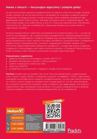 Tył okładki książki/ebooka Programowanie w języku Go. Koncepcje i przykłady. Wydanie II