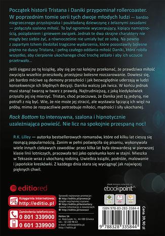 Tył okładki książki/ebooka Rock Bottom. Tristan i Danika. Tom II