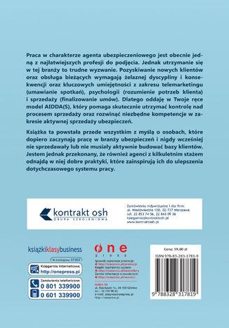Okładka książki Aktywna sprzedaż ubezpieczeń. Jak wdrożyć się i przetrwać w branży ubezpieczeniowej