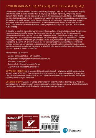 Tył okładki książki/ebooka Bezpieczeństwo systemów informatycznych. Zasady i praktyka. Wydanie IV. Tom 1