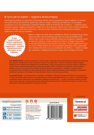 Tył okładki książki RozGROMić konkurencję. Sprawdzone w boju strategie dowodzenia, motywowania i zwyciężania. Wydanie II rozszerzone