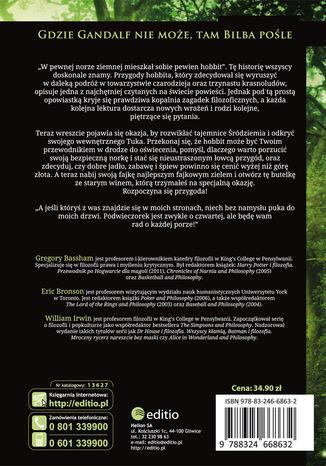 Okładka książki Hobbit i filozofia. Prawdziwa historia tam i z powrotem