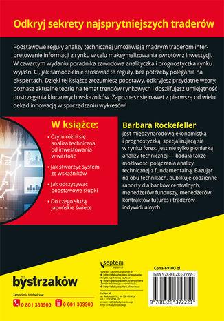Tył okładki książki/ebooka Analiza techniczna dla bystrzaków. Wydanie IV