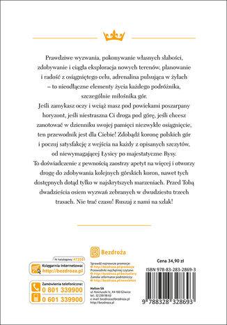 Tył okładki książki/ebooka Korona Polskich Gór. Wydanie 1