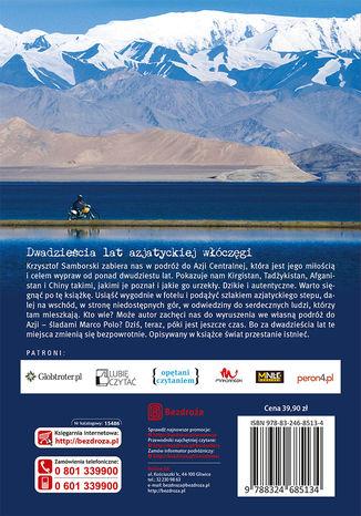 Tył okładki książki/ebooka Zjadłem Marco Polo. Kirgistan, Tadżykistan, Afganistan, Chiny
