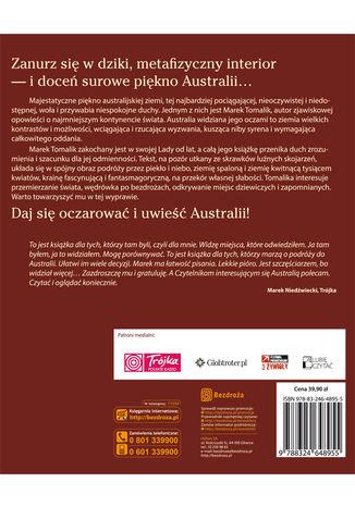Tył okładki książki/ebooka Lady Australia