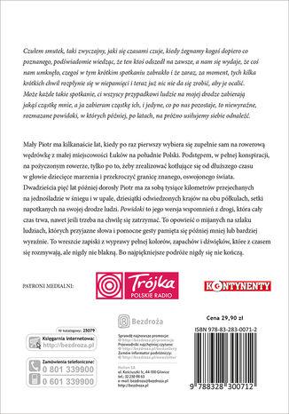 Tył okładki książki/ebooka Powidoki. Wydanie 1