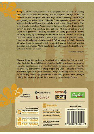 Tył okładki książki/ebooka Szkatułka pełna Sahelu. Subsaharyjska ballada