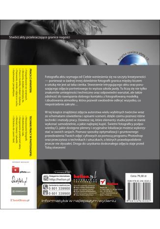 Tył okładki książki/ebooka Nagi obiektyw. Sztuka fotografowania aktów i obróbki zdjęć