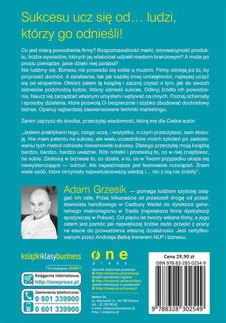Tył okładki książki/ebooka Ekspert biznesu. Jak wymyślić, stworzyć i prowadzić zyskowny biznes bez środków na start