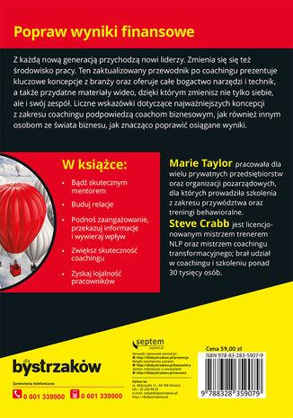 Okładka książki Coaching i mentoring biznesowy dla bystrzaków. Wydanie II