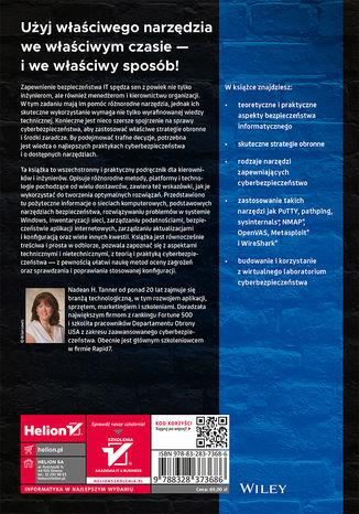 Tył okładki książki/ebooka Blue team i cyberbezpieczeństwo. Zestaw narzędzi dla specjalistów od zabezpieczeń w sieci