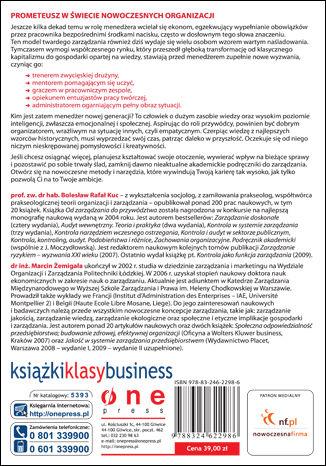 Tył okładki książki/ebooka Menedżer nowych czasów. Najlepsze metody i narzędzia zarządzania
