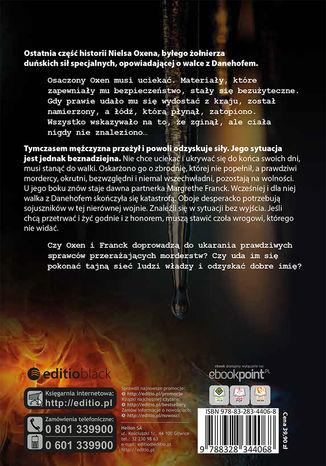 Tył okładki książki/ebooka Zamrożone płomienie. Trylogia OXEN. cz. 3