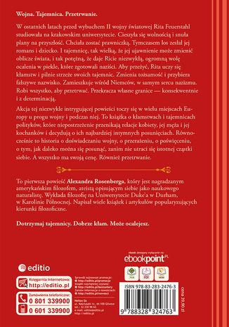Tył okładki książki/ebooka Dziewczyna z Krakowa