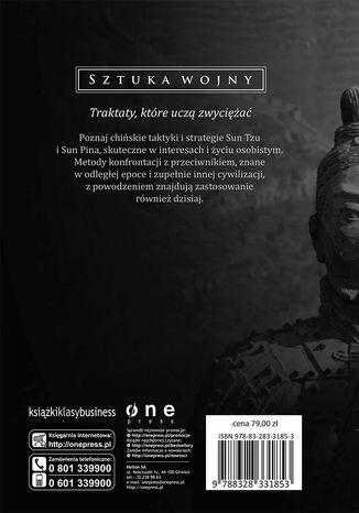 Tył okładki książki/ebooka Sztuka wojny - exclusive