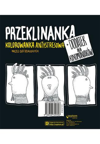 Okładka książki Kurza twarz! Przeklinanka kolorowanka antystresowa
