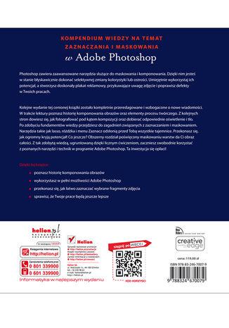 Tył okładki książki/ebooka Photoshop. Maskowanie i komponowanie. Wydanie II