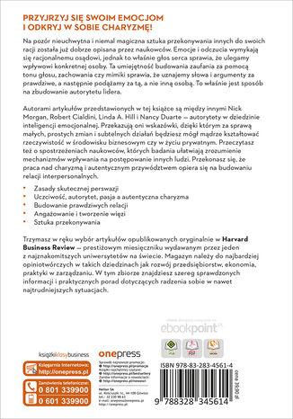 Tył okładki książki/ebooka Przekonywanie i wywieranie wpływu. Inteligencja emocjonalna. Harvard Business Review