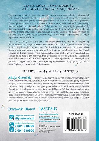 Okładka książki Terapia duszy. Przywrócenie jej związku z ciałem