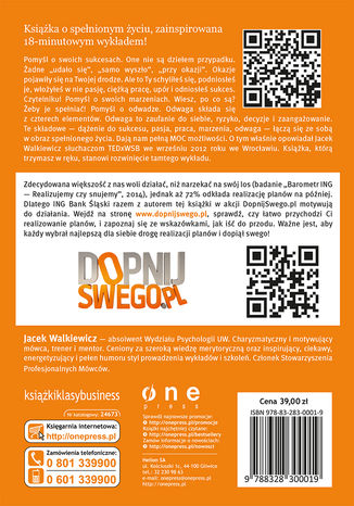 Tył okładki książki Pełna MOC możliwości (edycja ING)