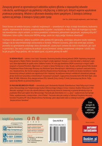 Tył okładki książki/ebooka RozGROMić konkurencję. Sprawdzone w boju strategie dowodzenia, motywowania i zwyciężania
