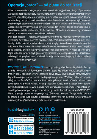 Tył okładki książki/ebooka Fundamenty kariery. Strategiczne poszukiwanie i zdobywanie pracy