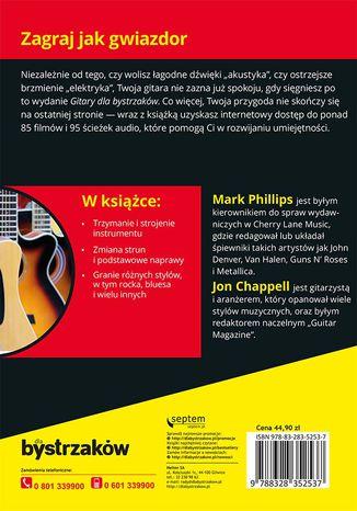 Okładka książki Gitara dla bystrzaków. Wydanie IV