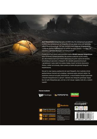 Tył okładki książki/ebooka Górskie wyprawy fotograficzne