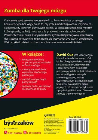 Okładka książki Kreatywne myślenie dla bystrzaków