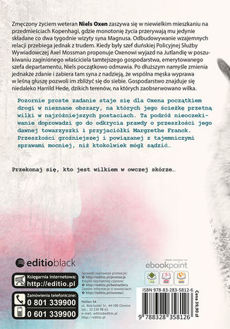 Tył okładki książki/ebooka Lupus