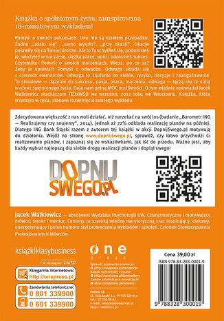 Tył okładki książki/ebooka Pełna MOC możliwości (edycja ING)