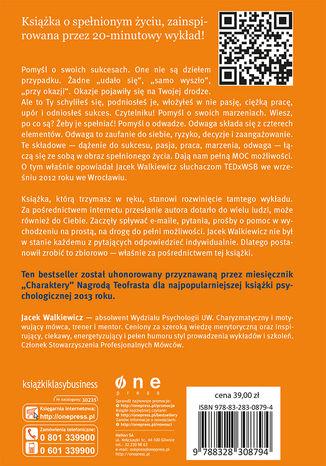 Tył okładki książki/ebooka Pełna MOC możliwości