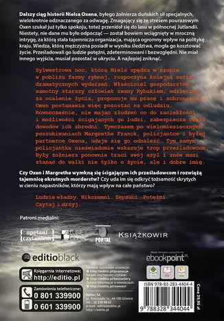 Tył okładki książki/ebooka Mroczni ludzie. Trylogia OXEN cz. 2