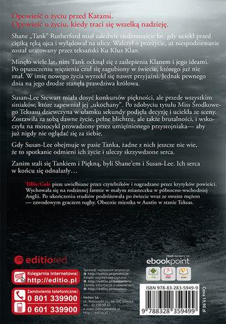 Tył okładki książki/ebooka Odnalezione piękno. Kaci Hadesa