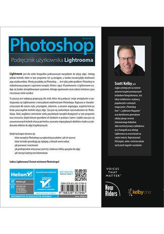 Tył okładki książki/ebooka Photoshop. Podręcznik użytkownika Lightrooma. Wydanie II