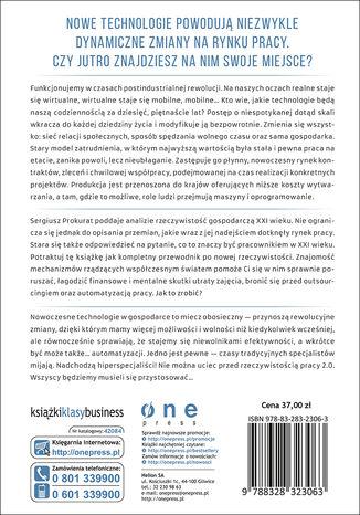 Tył okładki książki/ebooka Praca 2.0. Nie ukryjesz się przed rewolucją rynku pracy