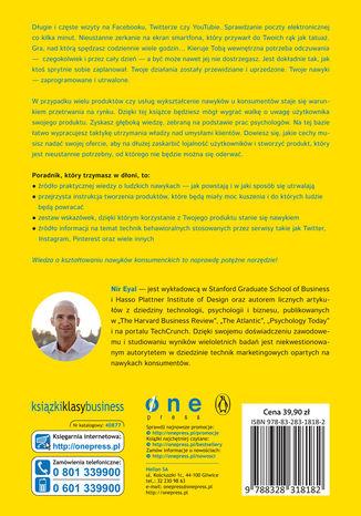 Tył okładki książki/ebooka Skuszeni. Jak tworzyć produkty kształtujące nawyki konsumenckie