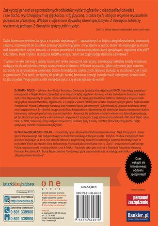 Tył okładki książki/ebooka RozGROMić konkurencję. Sprawdzone w boju strategie dowodzenia, motywowania i zwyciężania (twarda oprawa)