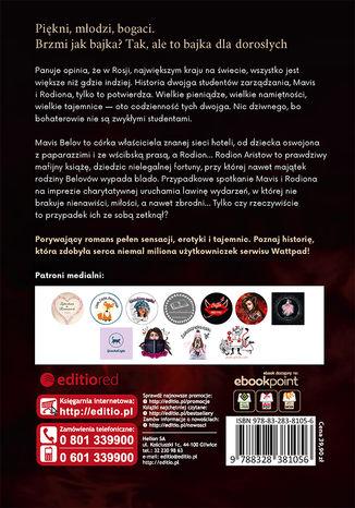 Tył okładki książki/ebooka Russian Devil
