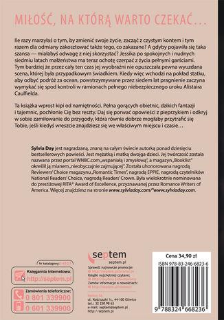 Tył okładki książki/ebooka Obudzone pragnienia