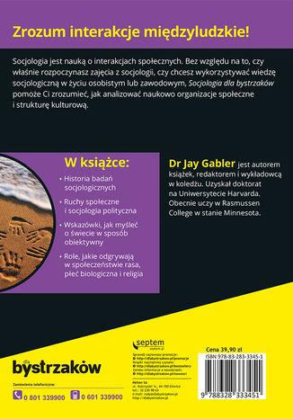 Okładka książki Socjologia dla bystrzaków